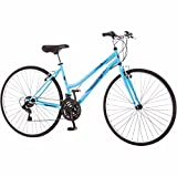 "26"" Womens Roadmaster Light Blue Hybrid Bike Women Road Bicycle Adult 700C Cycling Cruiser Sport Trail Vintage NEW"