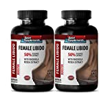 Supreme Enhancement for Sex Drive and Pleasure from Sexual Activity - Female Libido Booster With Rhodiola Rosea Extract (2 Bottles 120 Capsules)