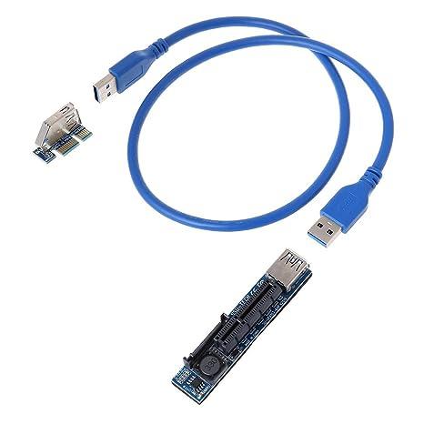Amazon.com: GMSP - Extensor de tarjeta PCI Express USB 3.0 ...