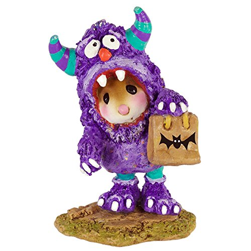 Wee Forest Folk M-589 Scaredy Monster (New Halloween 2016)
