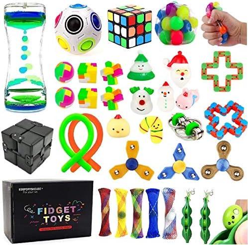 EDsportshouse 32 Pack Sensory Fidget Toys Set...