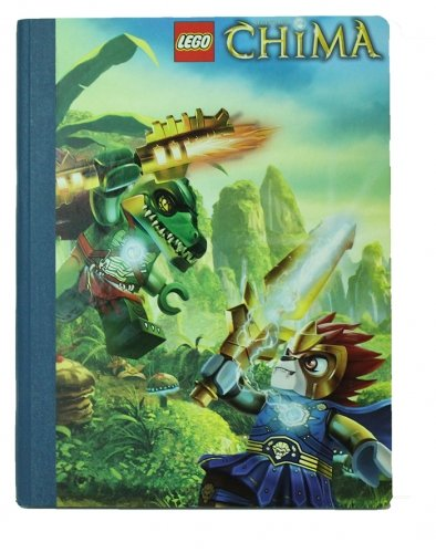 Character Lego Chima Composition Book Action Scene Notebook Stationery