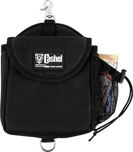 Cashel Snap-on Lunch Bag Horse Saddle Accessory - Color: Black