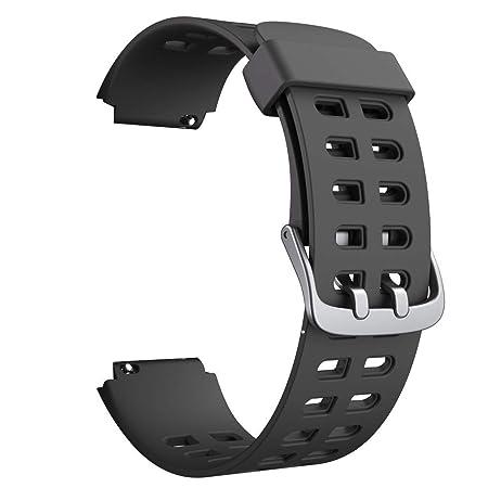 YAMAY SW020 Correa de Repuesto de TPU Ajustable para Smartwatch ...