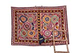 Beautiful Traditonal Banjara Yoke Embroidery Applique Patch Sewing crafts