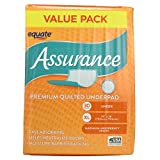 Assurance Premium Quilted Underpad, Value Pack, XL 30 COUNT (4 Pack)