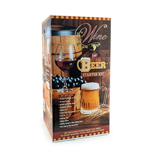 Premium Starter Kit for wine and beer used for the fermentation process