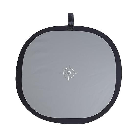 30 x 30 cm Port/átil Focus Board Dos Lados Doble Cara 18/% Gris//Blanco Balance Tarjeta de Referencia con Bolsa de Transporte para Canon Nikon Sony Fotover Gray//White Balance Card,12 x 12 Pulgadas