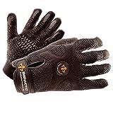 IMPACTO BG40850 Anti-Vibration Mechanic's Air Glove, Black, X-Large