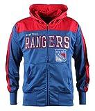 new york rangers vintage hoodie - NHL New York Rangers Youth Boreland Full-Zip Hoodie, Medium, Royal