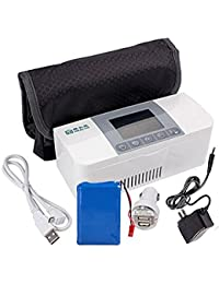 AIJUN Portable Insulin Cooler Case Keeping Mini Insulin Cooler Car Refrigerator Keeps Diabetes Medication Cool and Insulated