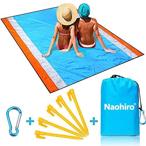 🥇 Naohiro Sand Free Beach Blanket
