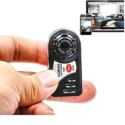XiangPu Q7 Mini DV WiFi 720P DVR Wireless IP Car Camera Smallest Video Camcorder with Microphone