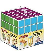 Geomag 129 - Magicube Free Building 64 kostki magnetyczne do konstrukcji, skrzynka budowlana zabawka edukacyjna