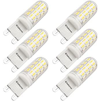Kakanuo G9 LED Bulb 40W Equivalent Daylight White 5000K 360 degree ...