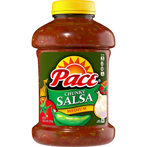 Pace Medium Chunky Salsa  64 Ounce