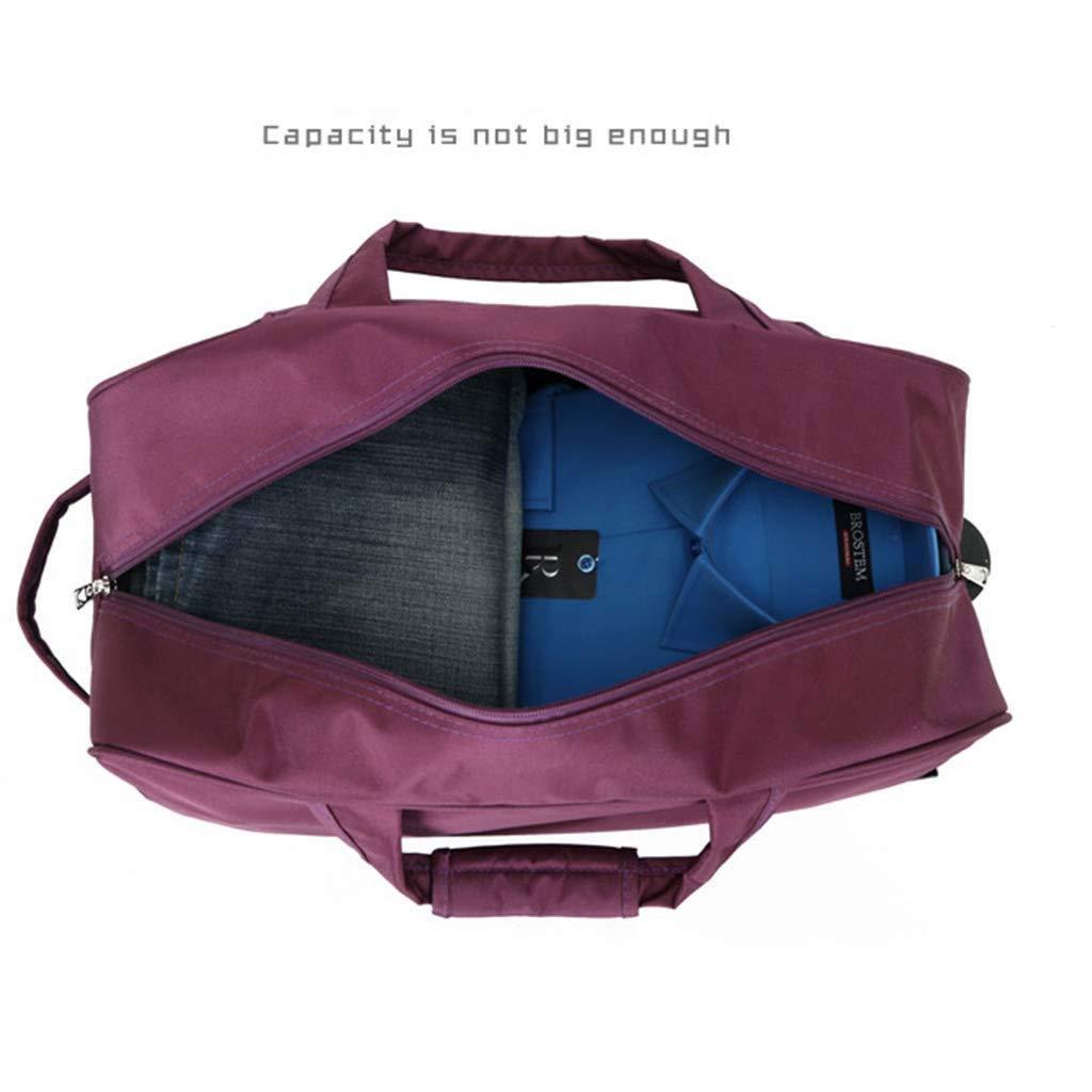 Men and Women,Trolley Bag,Large Capacity Travel Handbag 18.5 Inches Pocket Rolling Duffel Bag Color : Pink FANQIECHAODAN Waterproof Travel Bag with Wheels,Light Hand Bag