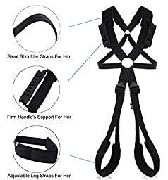 Jiuhexu Sex Love/SM Hanging Swing Sling for couples Adults Game handcuffs Fantasy sex Toys Set