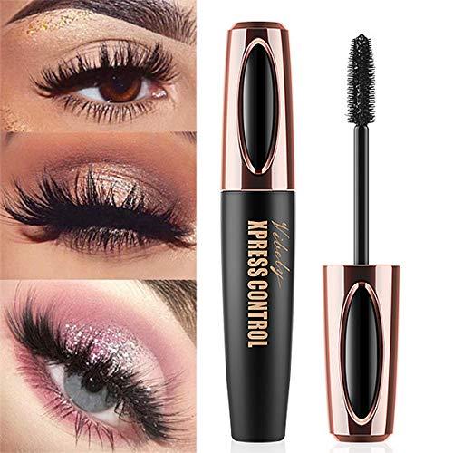 Women 4D Silk Fibre Mascara Eyelash Waterproof Extension Volume Long Lasting for women Mascara ()