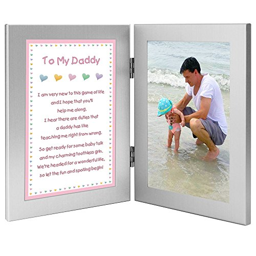 Baby Girl to Daddy Gift when She is Born, Father's Birthday or for Christmas - Add Photo (Birthday Gift For Dad From Baby Girl)