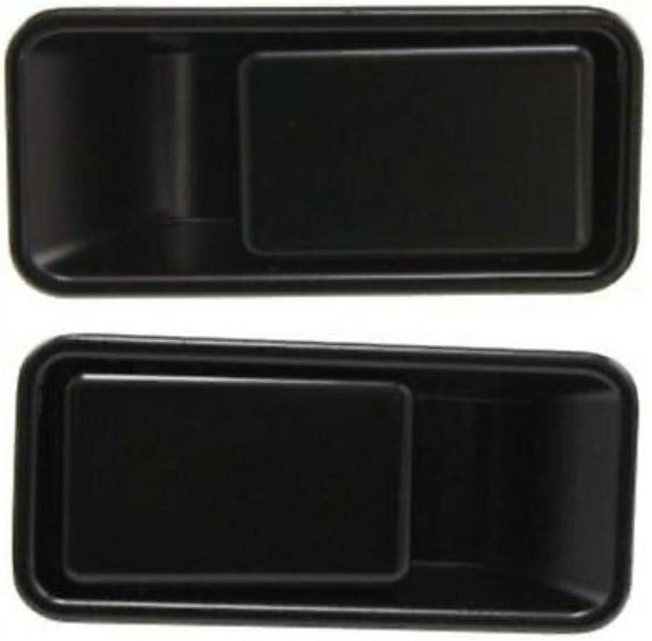 JEEP WRANGLER 87-95 FRONT OUTSIDE DOOR HANDLE LEFT NEW BLACK