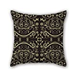 PILLO court style pillow shams 16 x 16 inches / 40 by 40 cm gift or decor for kitchen,indoor,home theater,festival,bar,club - each side