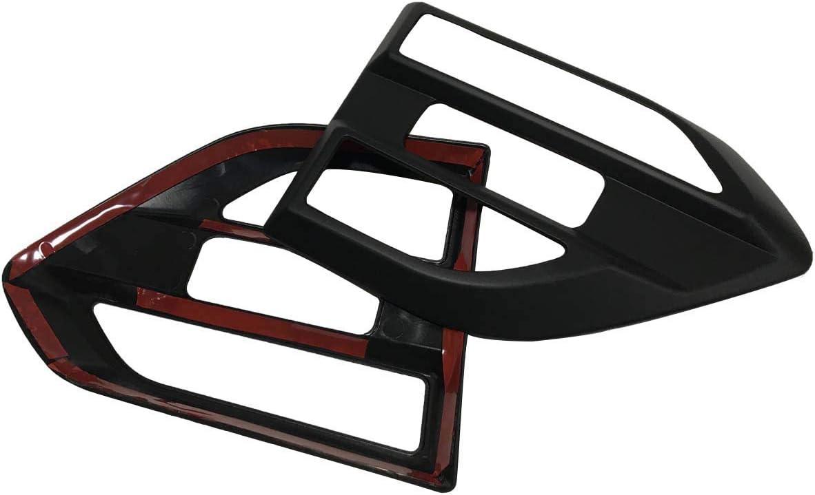 Couvercle d/évent lat/éral noir mat pour Ford Ranger Wildtrak T7 T8 PX MK2 MK3 2015-2020