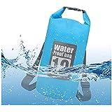 Waterproof Dry Bag Backpack for Kayaking, Travel, Boating, Swimming, Water Sports, Water Proof Floating Storage Bag 10L…