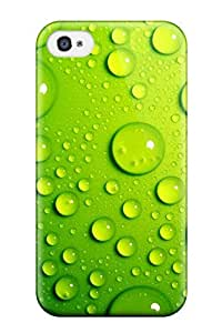 New Arrival Green Bubbles For Iphone 4/4s Case Cover