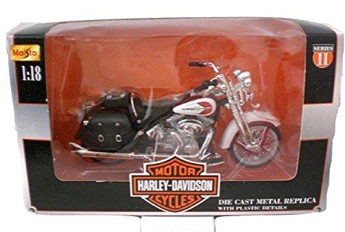 Maisto Harley Davidson 2001 FLSTS Heritage Springer Die cast Motorcycle 1:18 scale Series 11 - Heritage Springer Diecast Motorcycle