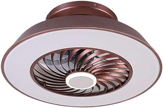 NHX Luz de Ventilador de Techo LED Minimalista Silencioso ...