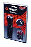 Groz 55000 Work Light LED Flashlight with Laser