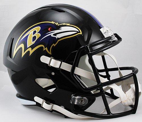 Baltimore Ravens Riddell Full Size Speed Deluxe Replica Football Helmet - New in Riddell Box