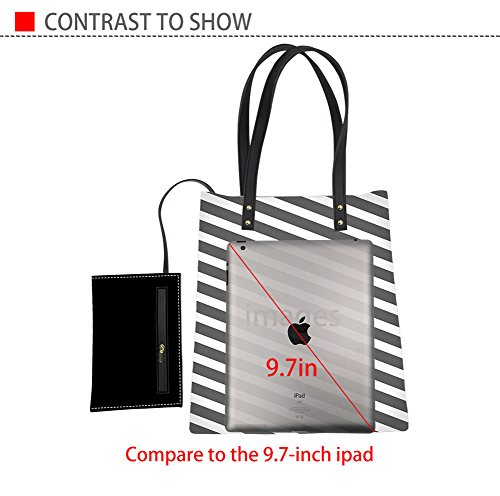 Travel Bag Tote PU Bag Casual Print Triangle2 Waterproof Laptop Bag Leather Polka Shoulder IDEA Dot HUGS HxwWzUXXPq