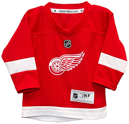 OuterStuff Detroit Red Wings NHL Infant Home Jersey (Infant 12-24 months)