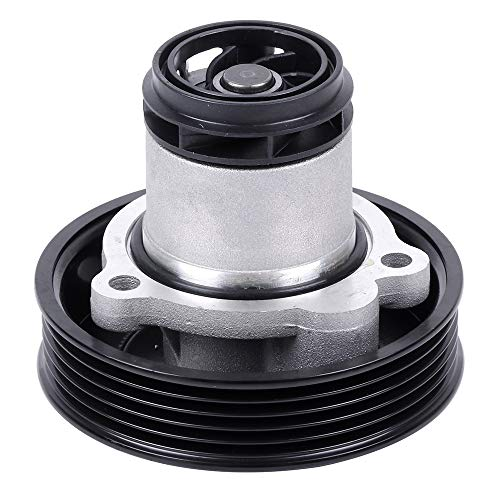 ECCPP Water Pump With Gaskets AW6050 Pump Fit for 2012 2013 2014 Volkswagen Beetle,2008 2009 2010 Volkswagen Bora,2010 2011 2012 2013 2014 Volkswagen Golf,2005 2006 Volkswagen Jetta