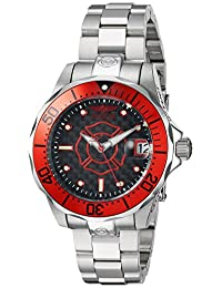 Invicta Women's 'Pro Diver' Automatic Stainless Steel Diving Watch, Color:Silver-Toned (Model: 23150)