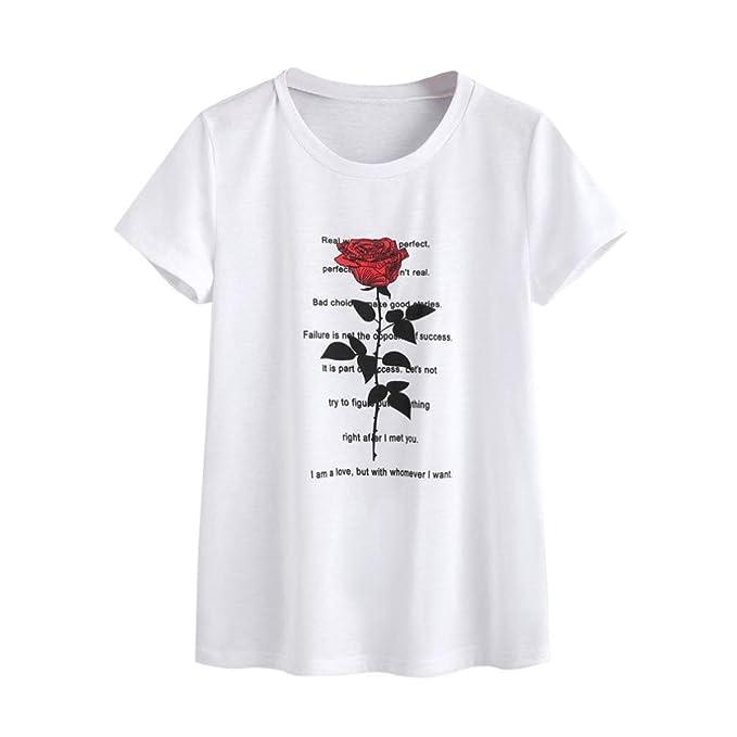 t shirt donna divertenti  beautyjourney Maglietta Donna Manica Maniche Corte Taglie Forti ...