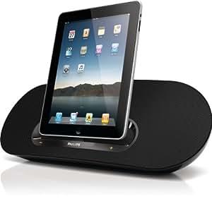 Philips DS8530/37 30W Negro acoplamiento altavoz - Altavoces (30 W, iPad,iPhone,iPod, Negro, Digital, 100 - 240 V, 50/60 Hz)