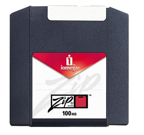 Iomega Zip 100MB Cartridge (PC Formatted, 3-Pack) (Discontinued by Manufacturer)