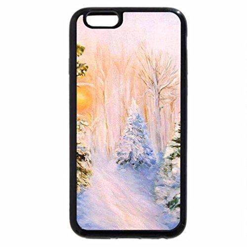 iPhone 6S Case, iPhone 6 Case (Black & White) - Solodilova Natalia. Just before Christmas