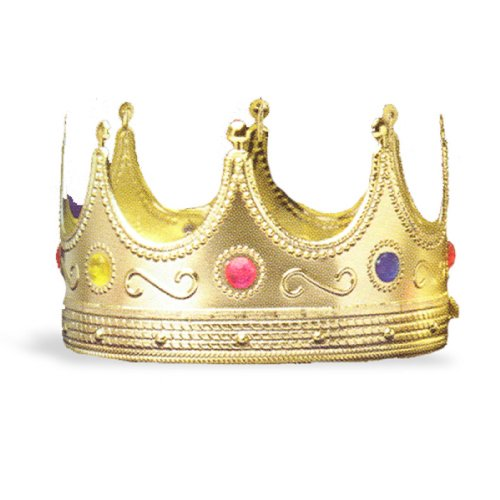 Forum Novelties Regal King Crown One-Size (Neptune Costume)