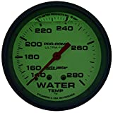 Auto Meter 4231 Ultra-Nite Water Temperature Gauge