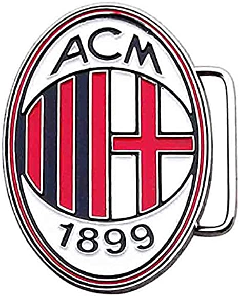 Amazon Com Zakka Canada Ac Milan Fc Football Club Enamel Belt Buckle Clothing