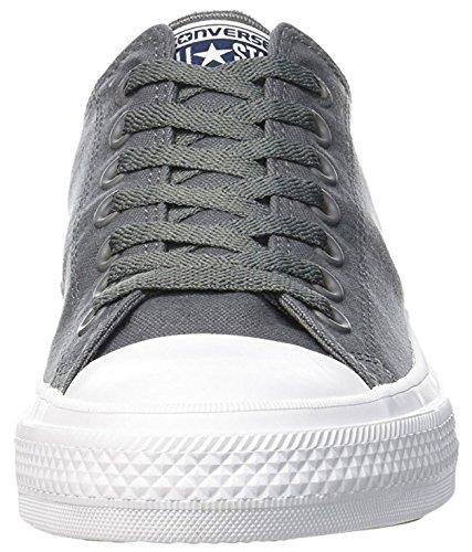 Ii Sneakers Tencel Ct Grau Converse As OX Unisex Erwachsene Thunder qn0nw4BI