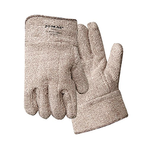 WELLS LAMONT 644HR Hvy Wt Terrycloth Heat Resistant Glove-Safety Cu (Price is for 12 Pair)