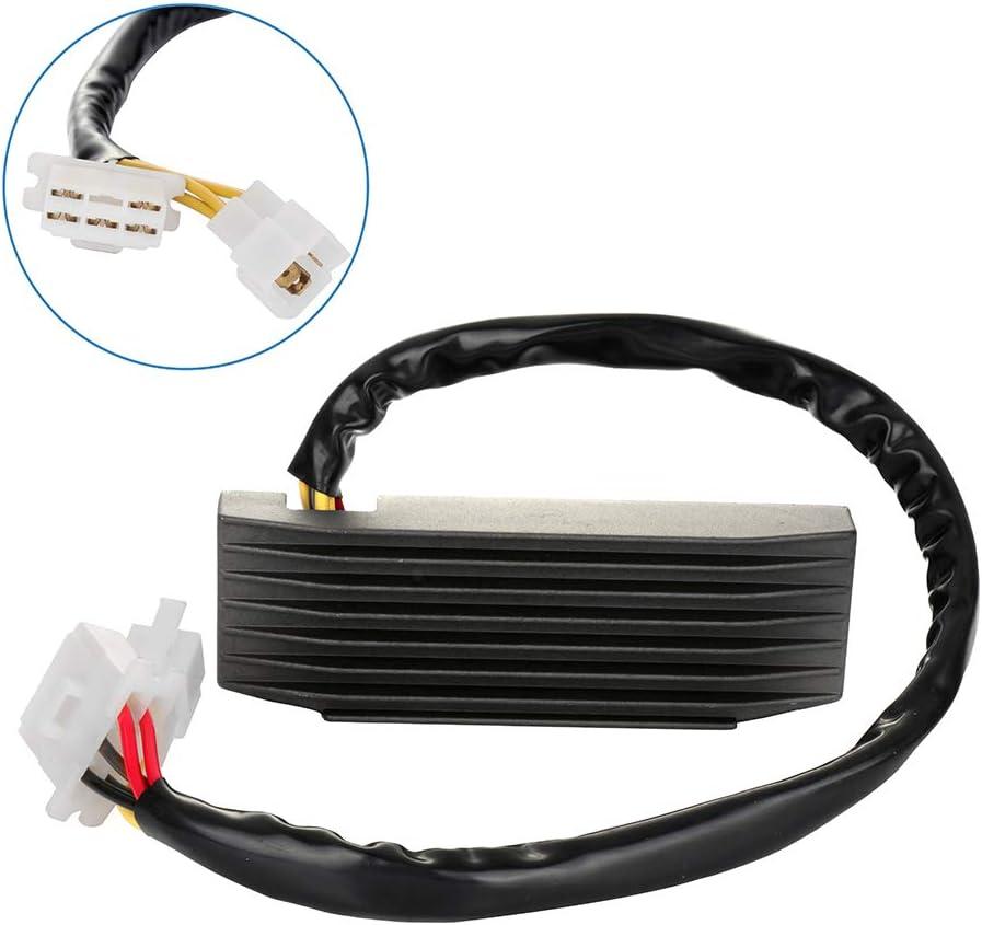 ECCPP Voltage Regulator Rectifier Fit for 1987 1988 1989 1990 1991 1992 1993 1994 1995 Suzuki Motorcycle VS1400 Intruder Motorcycle Regulator Rectifier