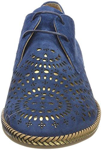 Mujer 33 Condor Cordones BLU Pinto para Azul Zapatos de Derby Di Blue 8FPwUB