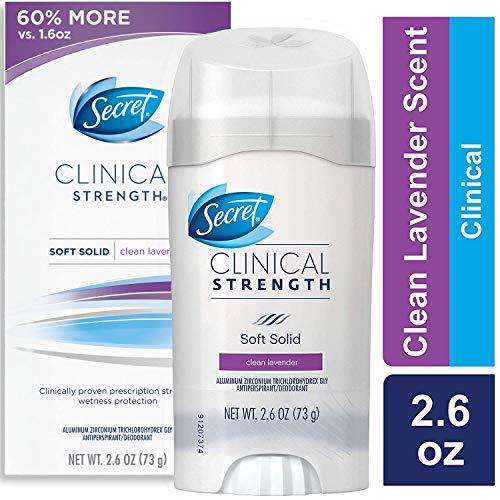 Secret Clinical Strength Antiperspirant Only $6.23