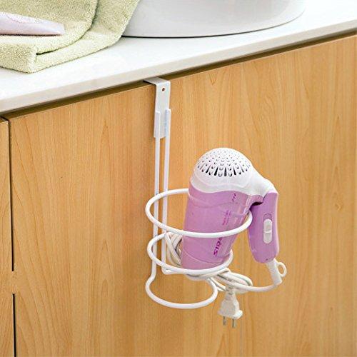 BOEN A4110 Over-Cabinet Hair Dryer Holder for Bathroom Vanity Storage BOEN Home
